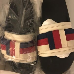 Gucci Shoes - Gucci slides New with receipt